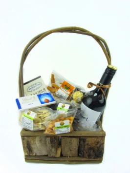 Red Wine Basket